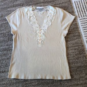 2 for 18 !! August Silk Cotton  top size XL